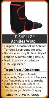 Enhanced Circulation for torn achilles, ruptured achilles, achilles tendon