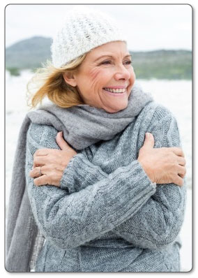 Applying cold constricts your blood vessels decreasing fluid retention and swelling in your shoulder.