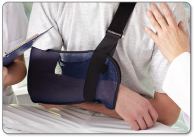 You may have to wear a sling for 1 week after frozen shoulder surgery.